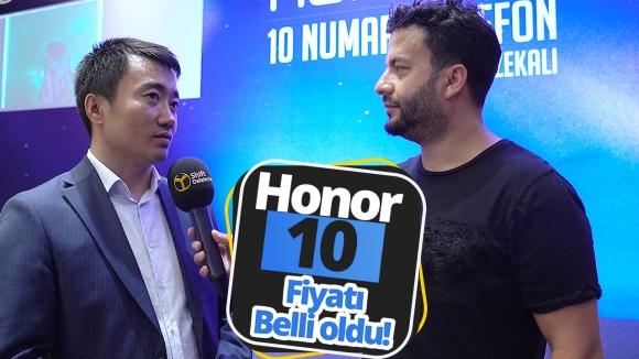 Honor 10 fiyatı sonunda açıklandı!