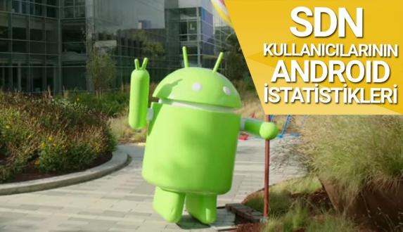 SDN okurlarının Android kullanım oranları!