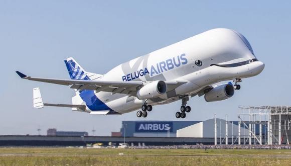 AirbusBeluga XL gökyüzü ile buluştu!