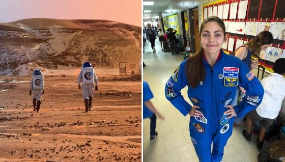 Mars'a ayak basacak ilk insan açıklandı!