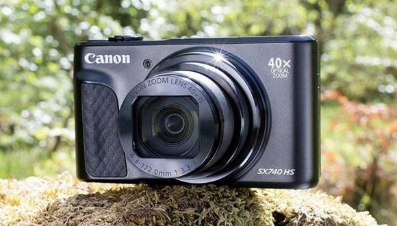 Canon SX740 HS tanıtıldı! 40x optik zoom!
