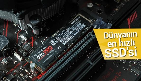 Dünyanın en hızlı SSD'si Samsung 970 Pro SSD