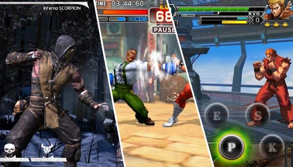 iOS ve Android için en iyi dövüş oyunları!