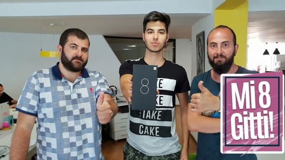 Hediye Xiaomi Mi 8 gitti! (Video)