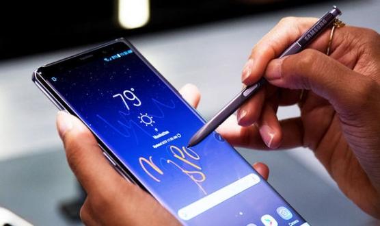 Samsung CEO'su Galaxy Note 9 ile görüntülendi!
