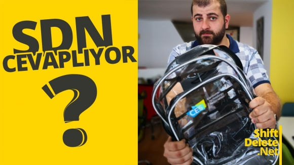 Sırt çantası hediyeli SDN Cevaplıyor #144