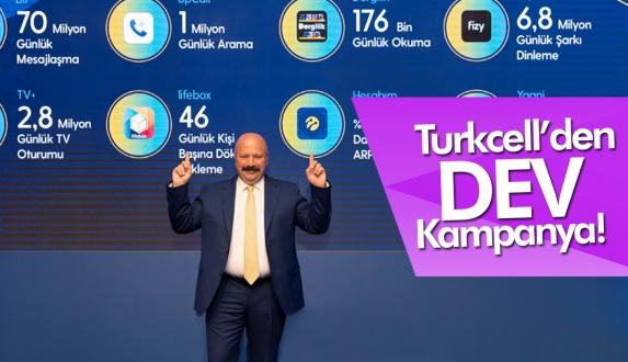 Turkcell yeni tarifelerini duyurdu!