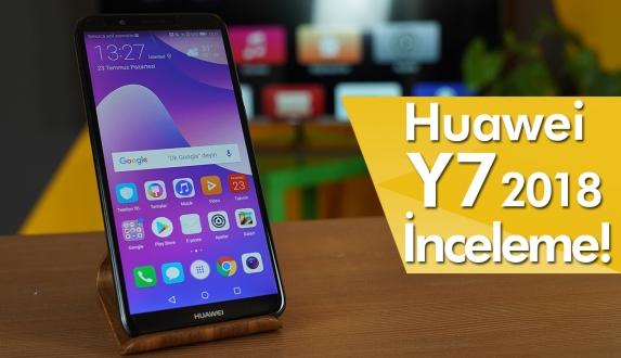 Huawei Y7 2018 inceleme