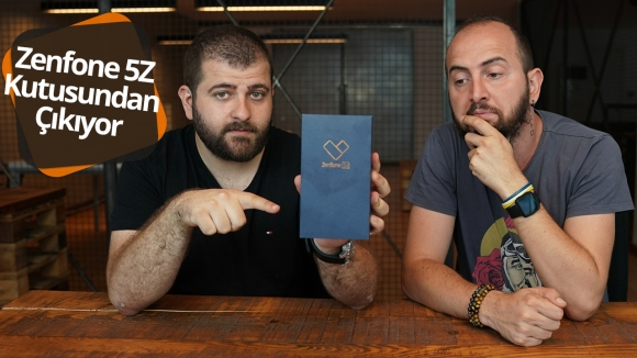 Asus Zenfone 5z kutu açılışı