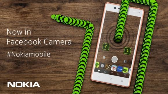Efsane yılan oyunu Facebook kameraya geldi
