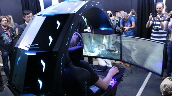 Acer çılgın oyuncu koltuğunu tanıttı!