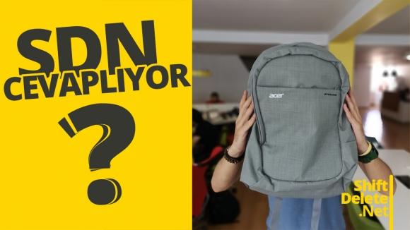 Sırt çantası hediyeli SDN Cevaplıyor #149