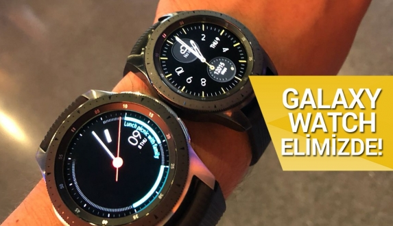 Galaxy Watch ön inceleme!