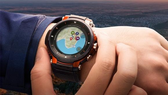 Casio'nun yeni akıllı saati: WSD-F30 tanıtıldı!