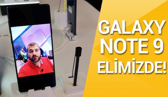 Samsung Galaxy Note 9 ön inceleme