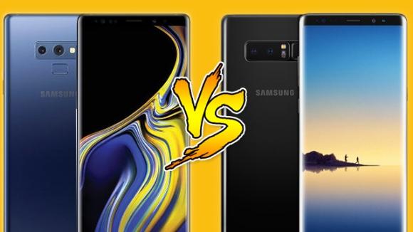 Galaxy Note 9 ve Galaxy Note 8 karşılaştırma!