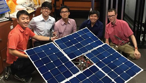Güneş enerjili drone geliştirildi