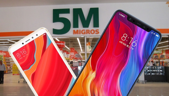 Migros, Xiaomi Mi 8 ve Redmi S2 satacak!