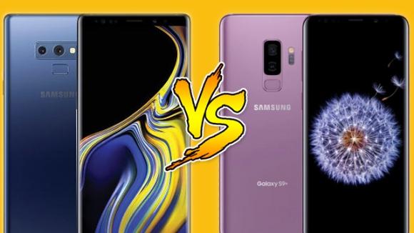 Galaxy Note 9 ve Galaxy S9 Plus karşılaştırma!