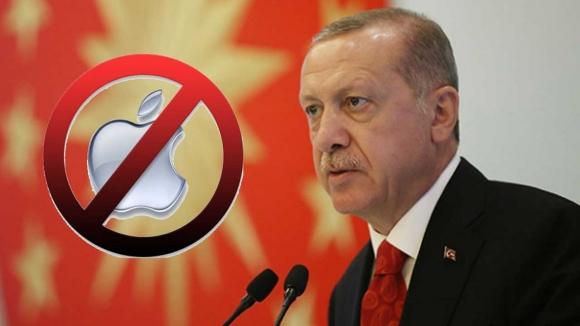Cumhurbaşkanı Erdoğan'dan iPhone vetosu!