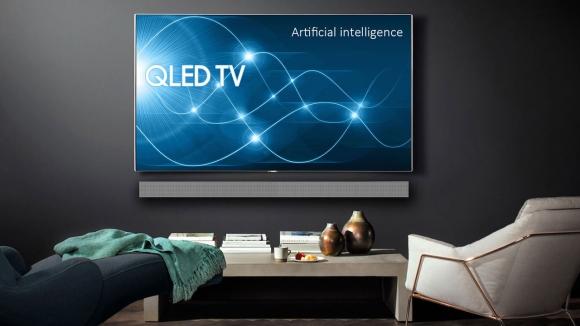 Samsung 8K QLED TV'sini duyurdu!