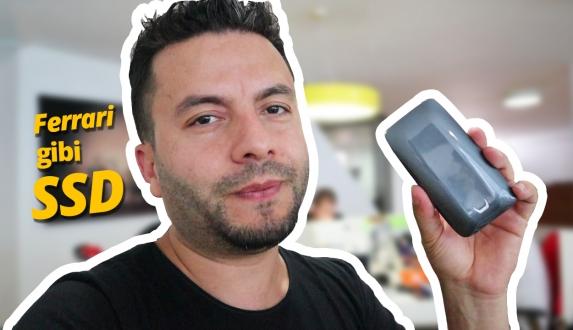 Samsung Portable SSD X5 inceleme! – Ferrari gibi SSD!
