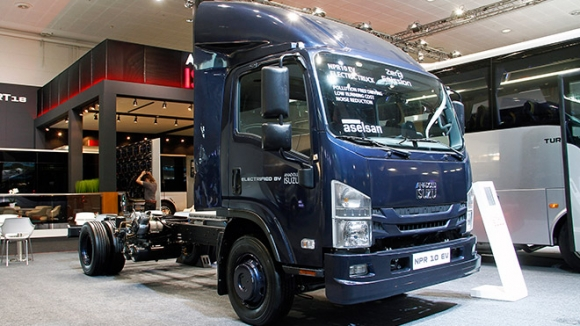 İlk yerli elektrikli kamyon: Isuzu NPR 10 EV