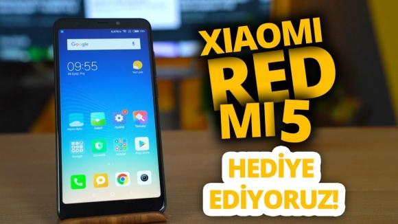 Xiaomi Redmi 5 inceleme! – Hediyeli video!