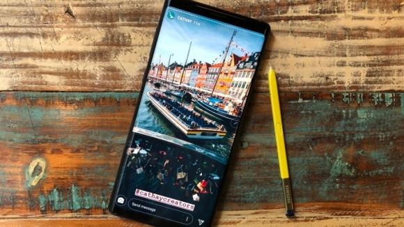 İddia: Samsung Galaxy Note 9 alev aldı!