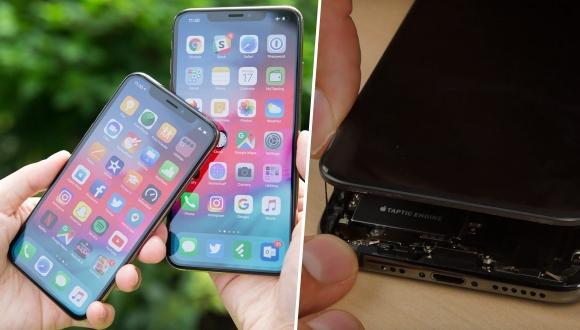 iPhone XS parçalarına ayrıldı! Yeni pil ortaya çıktı!