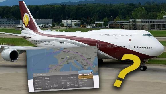 Devlet Boeing 747 mi aldı? Sosyal medya karıştı!
