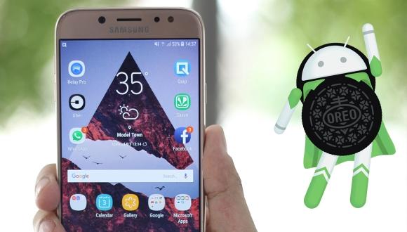 Galaxy J7 Pro için Android Oreo yayınlandı!