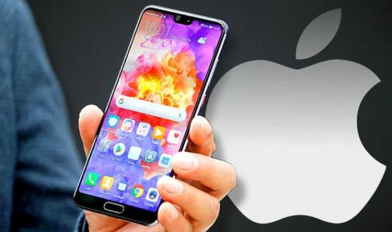 Huawei, Apple ile dalga geçti!