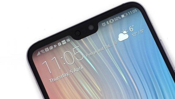 Huawei Mate 20 Pro'nun ön paneli sızdırıldı!