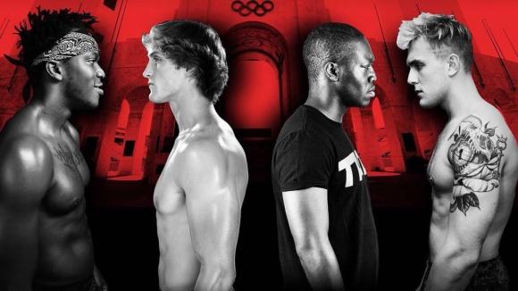 KSI ve Logan Paul'un boks maçı ücretsiz olarak yayınlandı