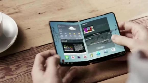 Samsung katlanabilir telefon için patent aldı!