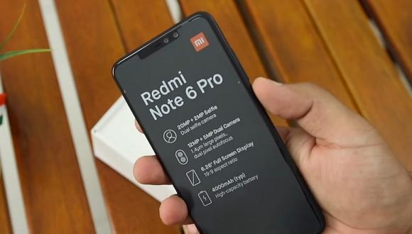 Dört kameralı Xiaomi Redmi Note 6 Pro tanıtıldı!
