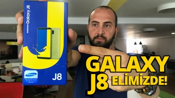 Samsung Galaxy J8 kutu açılışı