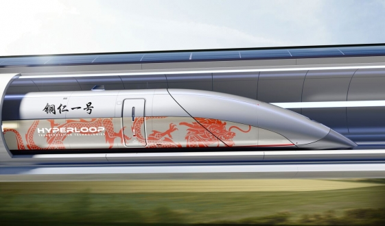HyperloopTT firmasının yolcu kapsülü ortaya çıktı