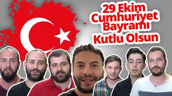 SDN Ofisinde 29 Ekim Cumhuriyet Bayramı coşkusu!