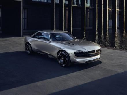 Peugeot E-Legend konsepti Paris'te heyecan uyandırdı