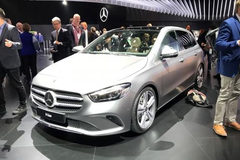 Mercedes B serisi baştan sona yenilendi