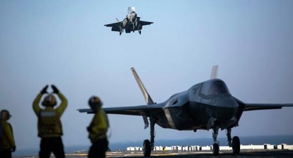 F-35 uçuşları durduruldu!