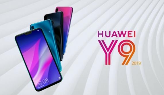 6.5 inç ekranlı Huawei Y9 (2019) duyuruldu!