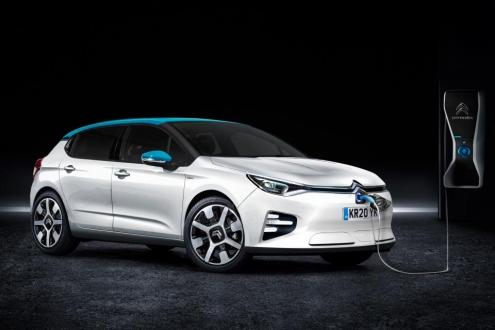 Elektrikli Citroen C4 geliyor!