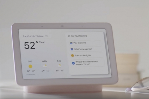 Google Home Hub özellikleri