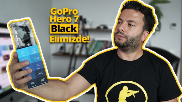 GoPro Hero 7 Black kutu açılışı!