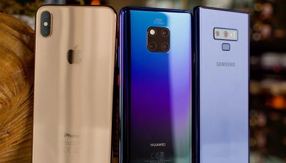 Huawei,Apple ve Samsung ile dalga geçti!