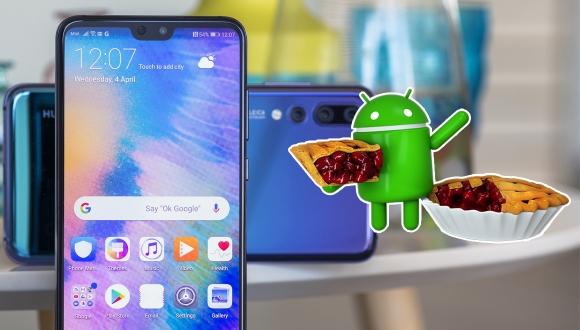 Huawei P20 Pro için Android 9 Pie yayınlandı!