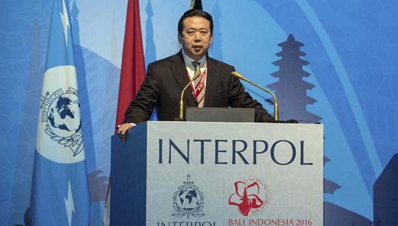 Interpol başkanı kayboldu! Sosyal medya karıştı!